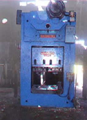 200 Ton Wilkins and Mitchell Trimming Press
